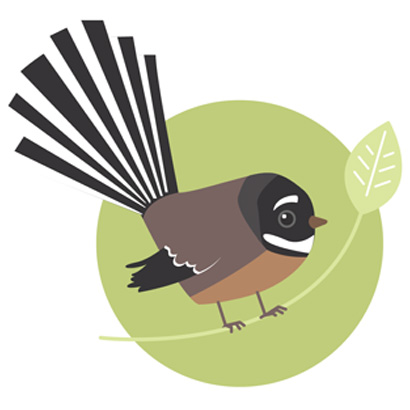 Garden bird survey / diseño de logo