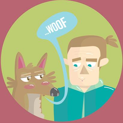 Woof! / Diseño gráfico